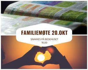 Familiemøte @ Salem-Huftarøy bedehus, Storebø
